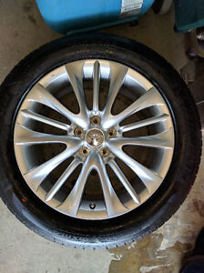18 inch Infiniti wheels and tires