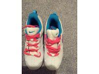 Girls Nike Court shoes brand new unworn size 3