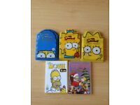 The Simpsons DVD bundle
