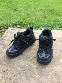 UK Size 2 Black Heeleys Only Used Once!