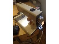 Frosted Rossman electric sewing nachine
