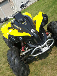 2007 can am 800  4x4