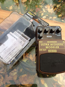 Behringer Acoustic Modeler AM400 $65