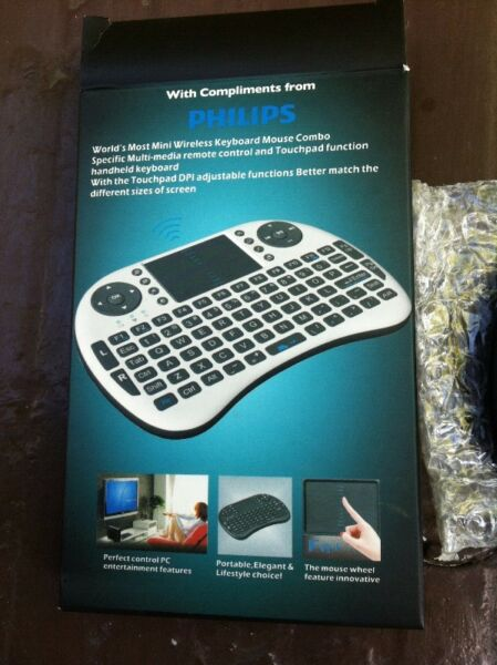 Philips wireless keyboard. In good working condition.