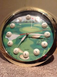 Golf clock --unopened and original box