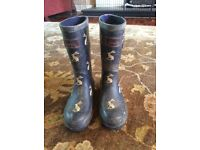 Childs Joules wellies