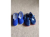 Baby shoes 5 mothercare brand new