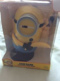 Despicable ME3 Money Box with Candy inside (New)
