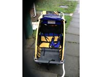 Burley Twin Children Bicycle Trailer