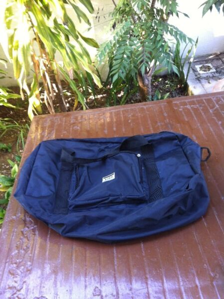Visa gym bag. Used only once. In excellent condition.