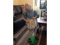 Vintage doll display automaton