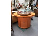 Jewellery display cabinet - Oval