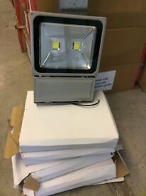 5 x LED FLOODLIGHTS for Security for the garden Brand New