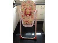 Mamia high chair.