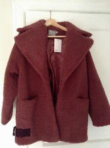 Beautiful ASOS teddy coat NEW