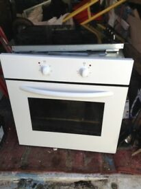 Built in hob and cooker