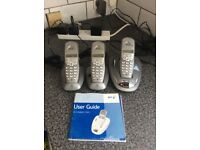 BT Telephones and Answering machine