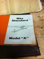 Ultralight aircraft kit Ritz Standard Model A