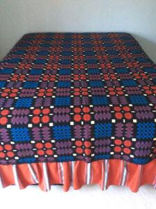 Welsh Tapestry Blanket.