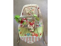 Fisher-price woodsy friends bouncer chair