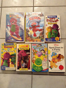 Preschool Childrens VHS movies