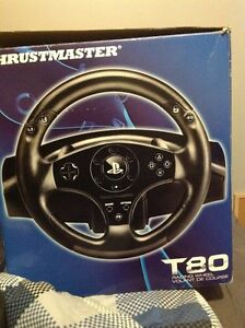 T80 RACING WHEEL FOR PS4 AND PS3
