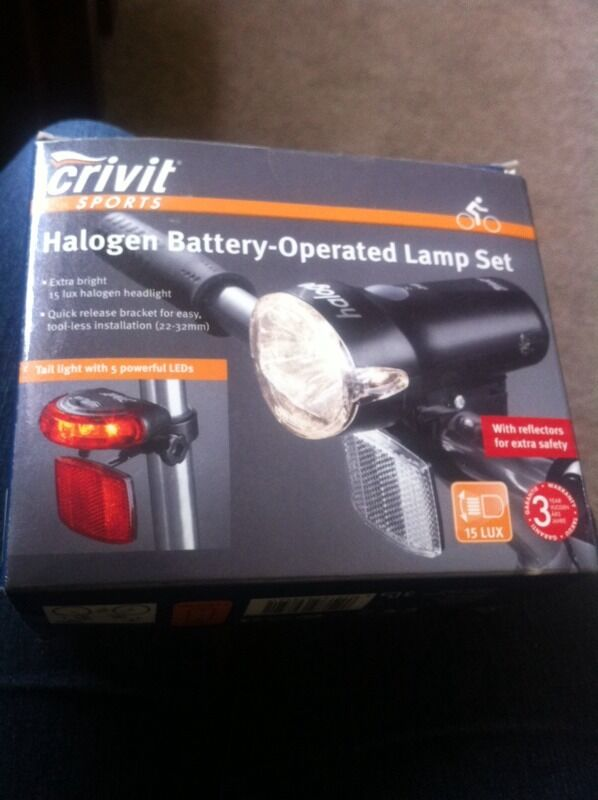 Halogen bike light set in Aberdeen Gumtree : 86 from gumtree.com size 598 x 800 jpeg 47kB