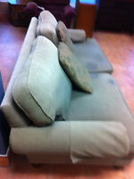 Very clean sofa and chair
