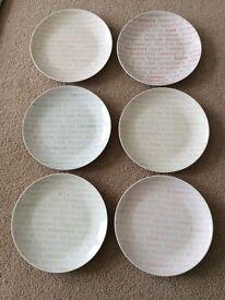 John Lewis Cheese Plates