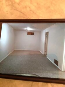 Large one bedroom open kitchen basement for rent