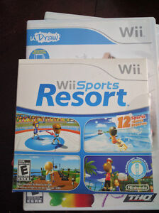 3 Wii games 5, 10$ each check ad for specific pricing