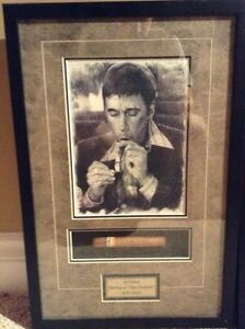 Scarface Al Pacino autographed picture and wall art London Ontario image 2
