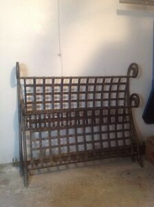 Wrought iron Queen size bed frame