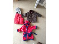 Bundle 9-12 months including mamas and papas coat