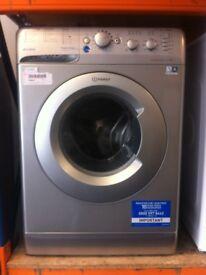 Indesit washing machine (grey)