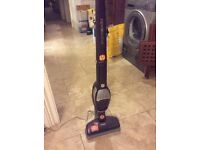AEG cordless Hoover with portable hoover
