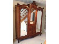 Stunning antique wardrobe