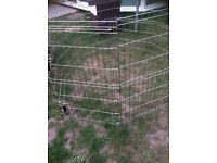 Large puppy pen. 4 foot square. High
