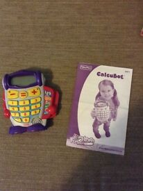 Fisher Price Calcubot