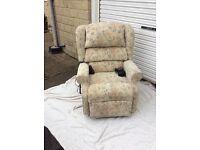 Lift Tilt and Recline chair.