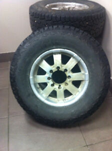4 Hankook Dynapro LT285/70R17 with RIMS from Dodge Ram 2500