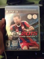 PES 2015 FOR THE PS3