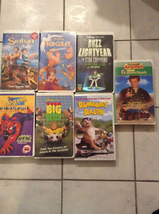Childrens VHS Movies - .50 each