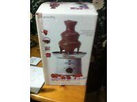 Retro new chocolate fountain machine