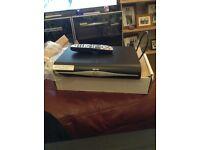 Sky + hd box with remote, plug and original box