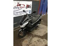 HONDA PCX PCX125 2015 BLACK WITH OXFORD HOT GRIPS STERLING
