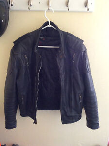 Screamin' Eagle Leather Motorcycle Jacket