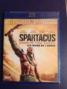 Spartacus gods of the arena on Blu-ray new and sealed