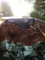 Cheap dark mulch delivered sackville nb
