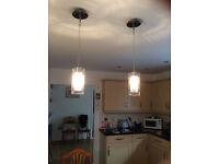 Ceiling lights for kitchen or dining room.